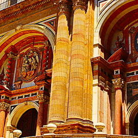 Malaga Church Splendor by Loretta S