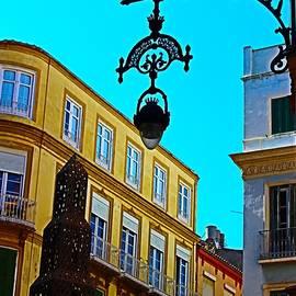 Malaga Cityscape  by Loretta S
