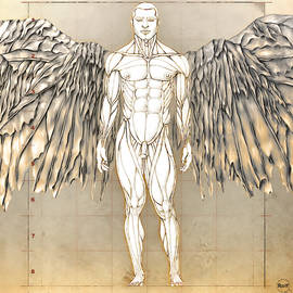 Male Angel #2 by Rolf