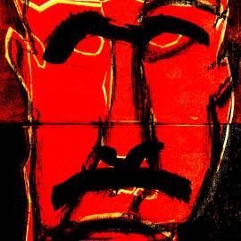 Man Face Digital 13 by Artist Dot