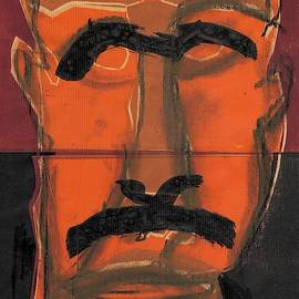 Man Face Original 13 by Artist Dot