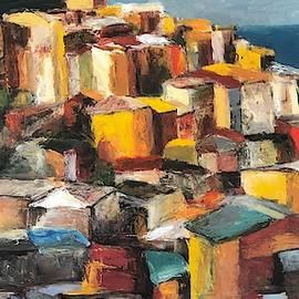 Manarola Colorscape by Terry Orletsky