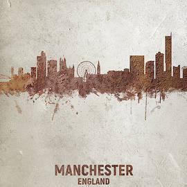 Michael Tompsett - Manchester England Rust Skyline