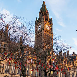 Manchester Town Hall Celebrates Chinese New Year Using Lanterns by Iordanis Pallikaras