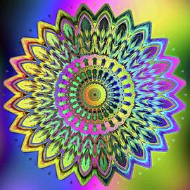 Mandala  No.45 by Grace Iradian