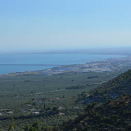 Manfredonia Gulf View from Gargano National Park by Aicy Karbstein