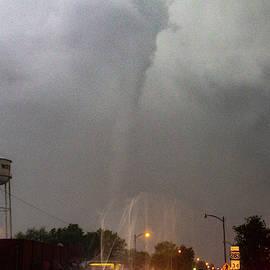Mangum Oklahoma Tornado 021 by Dale Kaminski