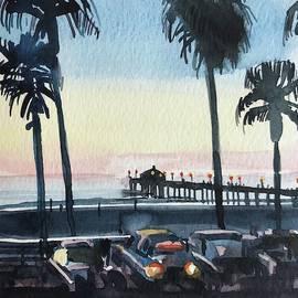 Manhattan Beach 90266 the Pier by Luisa Millicent
