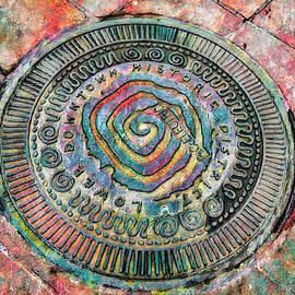 Manhole Cover Variation 2 by Lorraine Baum