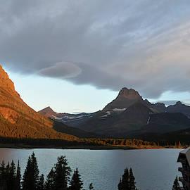 Many Glacier Scene by Bruce Gourley