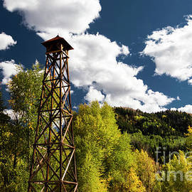 Marble Colorado Bell Tower by Norma Brandsberg