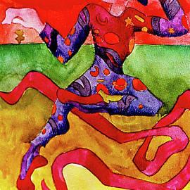 Mardi Gras Jester by Genevieve Esson