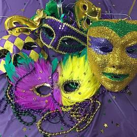 Mardi Gras Masks by Denise Mazzocco