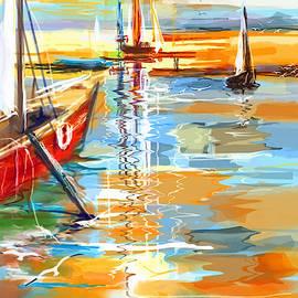 Marina Del Rey by Boghrat Sadeghan