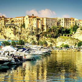 Marina in Tropea, Italy by Alexey Stiop