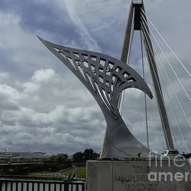 Marine Way Bridge Southport England  by Tony Hulme
