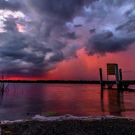 Marl Lake Moody Sunrise by Ron Wiltse
