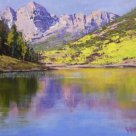Graham Gercken - Maroon Bells Reflections