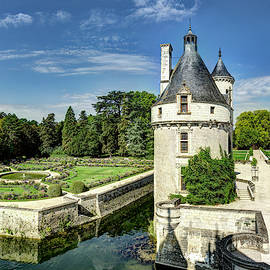 Marques Tower From Chenonceau by Weston Westmoreland