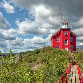 Marquette Harbor Lighthouse by Craig Sterken
