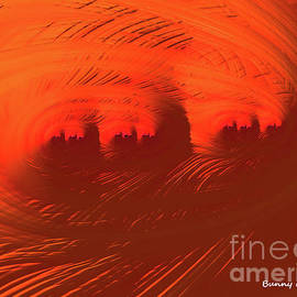 Mars City Sunset by Bunny Clarke
