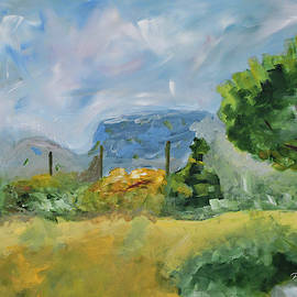 Marseille Countryside by Paulette B Wright