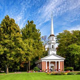 Martha Mary Chapel Greenfield Village  by LeeAnn McLaneGoetz McLaneGoetzStudioLLCcom