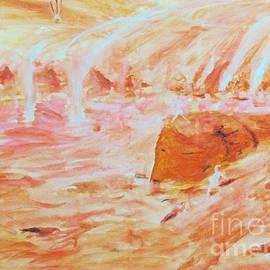 Martian Dust Storm  by Stanley Morganstein