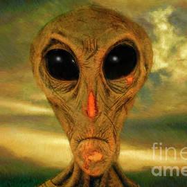 Martian Headshoot by Blake Richards