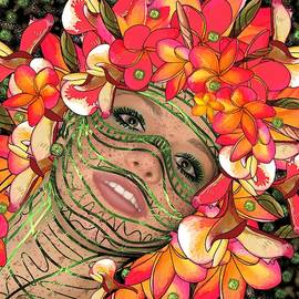 Mask Freckles and Flowers by Joan Stratton