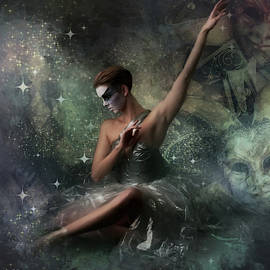 Masked Ballerina  by G Berry