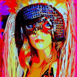 Masked Megan #2 by Ed Weidman