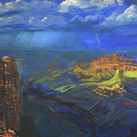 Mather Point Storm  by Chance Kafka