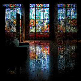 Mausoleum Stained Glass 08 by Thomas Woolworth