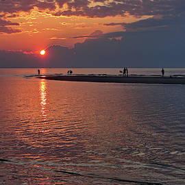 Mayflower Beach Sunset by Lyuba Filatova