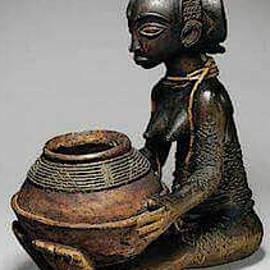 Mbalouba Queen by Bakongo I