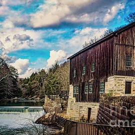 Mcconnells Mill Pennsylvania by Janice Pariza