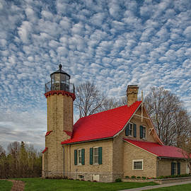 McGulpin Point Lighthouse by Mike Griffiths