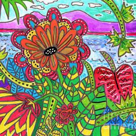 Me Ke Aloha Pumehana 3 by A Hillman