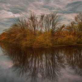 Mead Fall Reflection by Trey Foerster