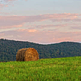 Meadow Brook Farm Dawn Pano by Angelo Marcialis