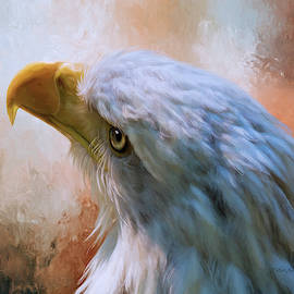 Meant To Be - Eagle Art by Jordan Blackstone