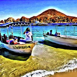 Medano Beach Cabo san Lucas Mexico by Jerome Stumphauzer