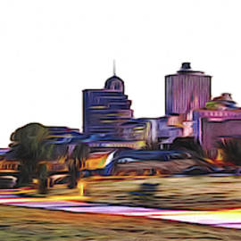 Memphis Skyline by Barry Jones