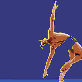 Men Rhythmic Gymnastics by Joaquin Abella