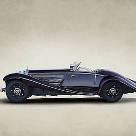 Mercedes Benz 500K by Douglas Pittman