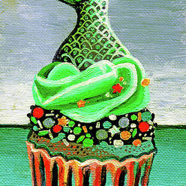 Mermaid Cupcake by Genevieve Esson