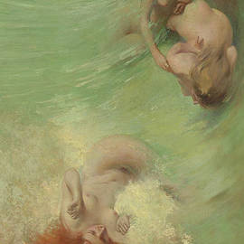 Mermaids and Sea Nymphs by Eric Pape