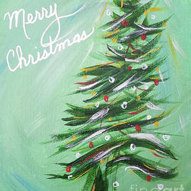 Merry Christmas Tree by Kathy Carlson
