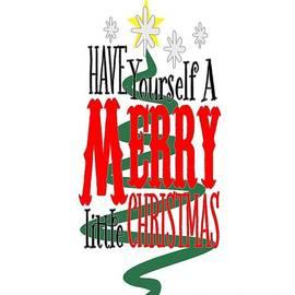 Merry Little Christmas by Judy Hall-Folde